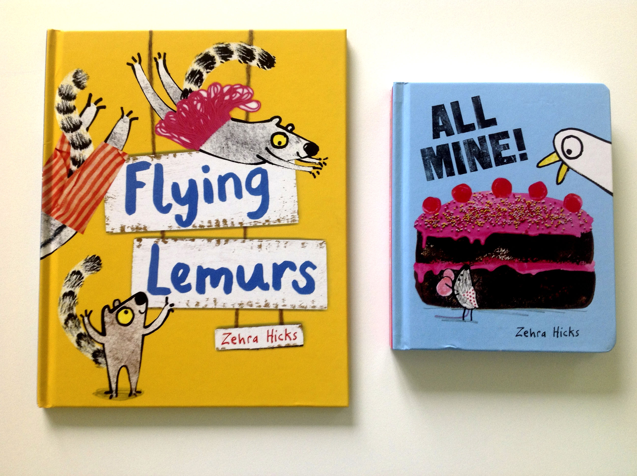 Lemurs and board book 2