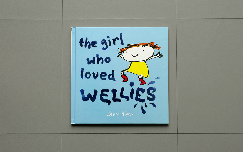 The Girl Who Loved Wellies cover